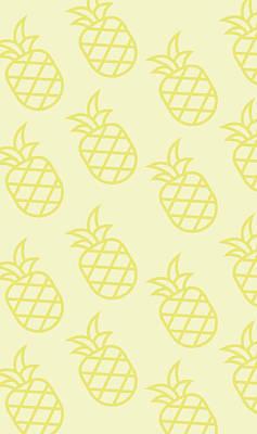 Pineapple Wall Art - Digital Art - Pineapple Pattern by Pixels