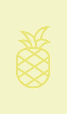 Pineapple Wall Art - Digital Art - Pineapple by Pixels