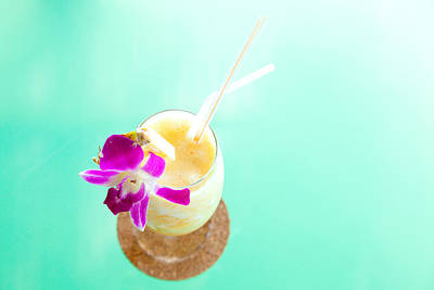 Photograph - Pineapple Smoothie by Alexey Stiop