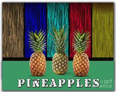Pineapples Art Print by Marvin Blaine