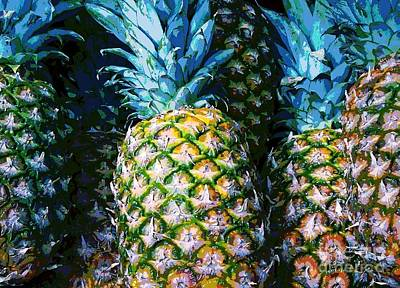 Photograph - Pineapples by Sarah Loft