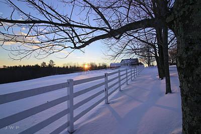 Pineland Farms Photograph - Pineland Sunrise by Jonathan Woodbury