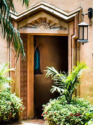 Pinewood Estate Entrance Art Print by Susan Molnar