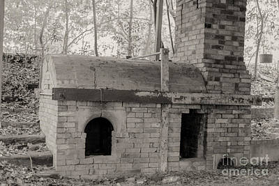 Pinewood Pottery Kiln Art Print by Russell Christie
