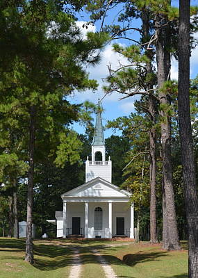 Photograph - Piney Grove Church by Carla Parris