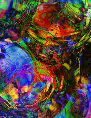Digital Art - Ping by Christian Allen
