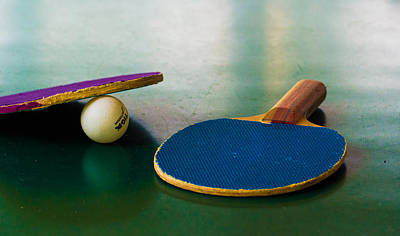 Ping Pong Wall Art - Photograph - Ping Pong by Diane Bell