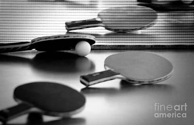 Ping Pong Wall Art - Pyrography - Ping-pong by Evgeniy Lankin