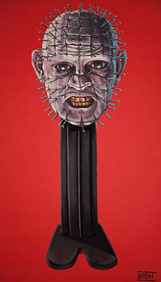 Pastel - Pinhead by Brent Andrew Doty