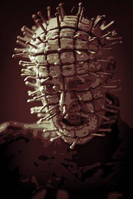 Clive Digital Art - Pinhead Hellraiser by Jonathan Davison
