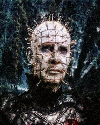 Digital Art - Pinhead by Joe Misrasi