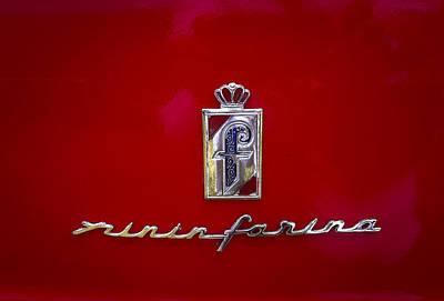 Photograph - Pininfarina by Jean Noren