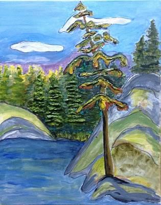 Macara Painting - Pining On Macara by Marlene Ann Roy