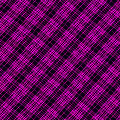 Pink And Black Plaid Cloth Background Art Print by Keith Webber Jr