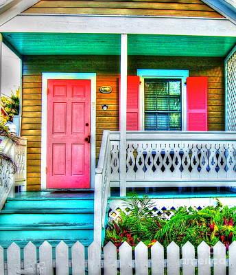 Shotgun Houses Wall Art - Photograph - Pink And Proper by Debbi Granruth