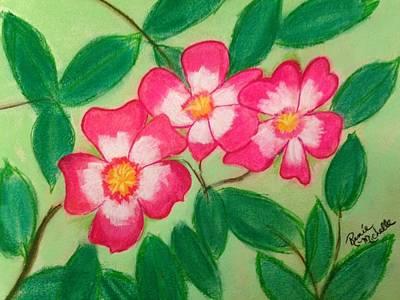 Pastel - Pink Baby Ballerina Geranium by Renee Michelle Wenker