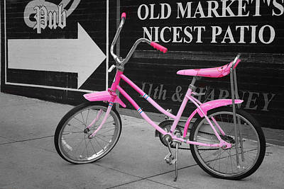 Photograph - Pink Bike by Nikolyn McDonald