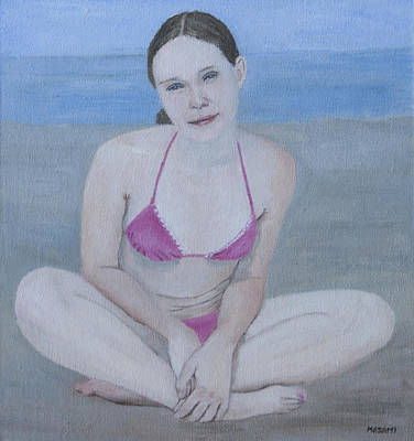 Painting - Pink Bikini by Masami Iida