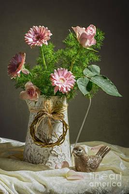 Gerbera Photograph - Pink Bouquet by Amanda Elwell