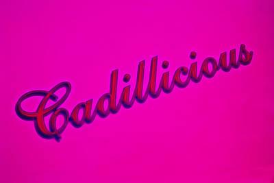 Pink Cadillicious Art Print