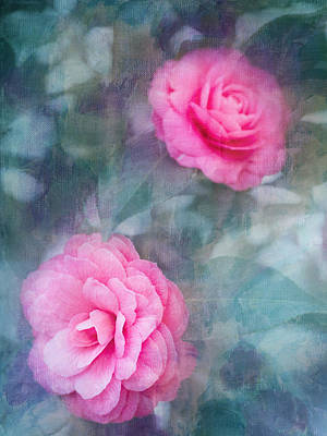 Photograph - Pink Camellia by Rebecca Cozart