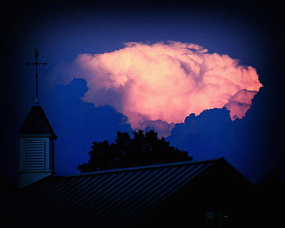 Photograph - Pink Cloud Over Lexington by Bill Swartwout