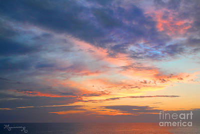 Photograph - Pink Clouds At Sunset by Mariarosa Rockefeller