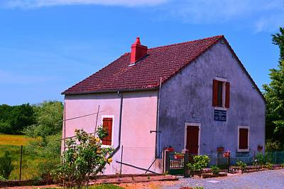 Wall Art - Photograph - Pink Cottage by Jackie and Noel Parry