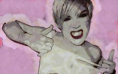 Reason Digital Art - Pink by Dan Sproul
