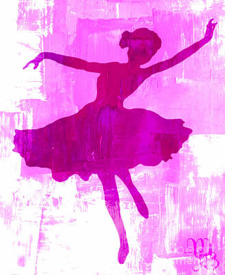 Digital Art - Pink Dancer by Mindy Bench
