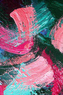 Painting - Pretty Pink Abstract by David Clode