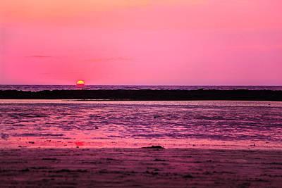 Photograph - Pink Dawn At Manori Bel by Kantilal Patel