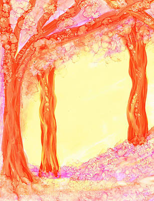 Painting - Pink Dawn by Kelly Dallas