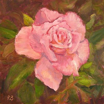 Pink Delight Art Print by Robie Benve