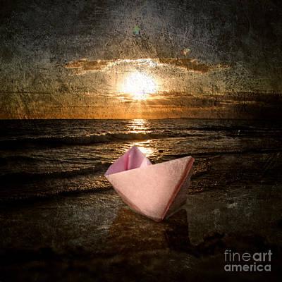 Message Art Photograph - Pink Dreams by Stelios Kleanthous