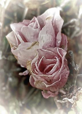 Mixed Media - Pink Elegance by Pamela Walton
