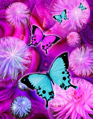 Alixandra Mullins Photograph - Pink Fantasy Flower by Alixandra Mullins
