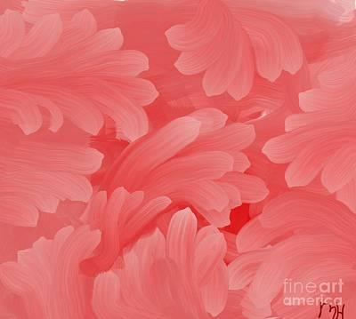Blend Photograph - Pink Fern Fantasy by Marsha Heiken