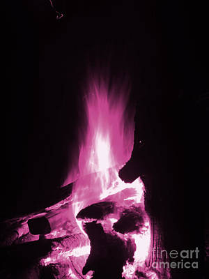 Photograph - Pink Fire by Melissa Lightner