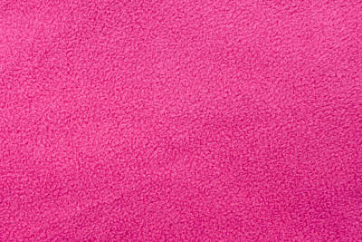 Pink Fleece Art Print by Tom Gowanlock