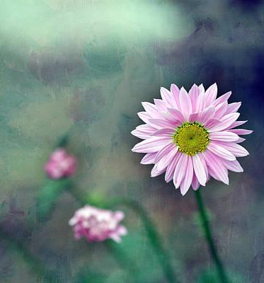 Pink Flower Center Art Print