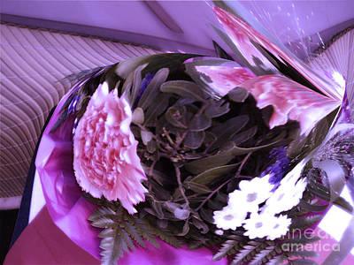 Pink Flowers Art Print by Gabriele Mueller