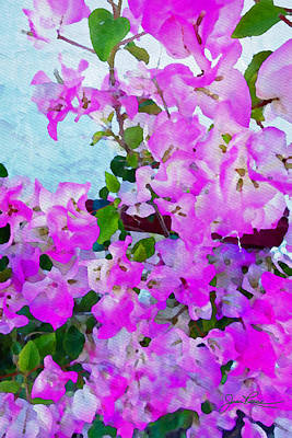 Painting - Pink Flowers by Joan Reese