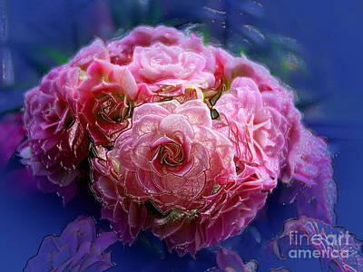 Photograph - Pink Flowers by Lance Sheridan-Peel