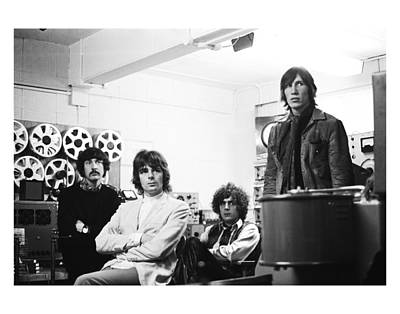 Photograph - Pink Floyd 1967 by Chris Walter