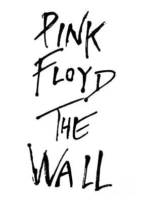 Illusttation Digital Art - Pink Floyd No.01 by Caio Caldas