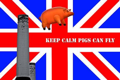 Pink Floyd Pig Art Print