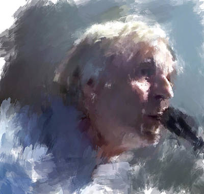 Concert Digital Art - Pink Floyd Roger Waters by Yury Malkov