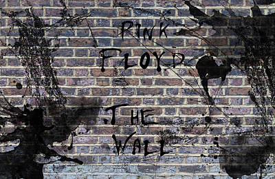 Actor Painting - Pink Floyd The Wall by Celestial Images