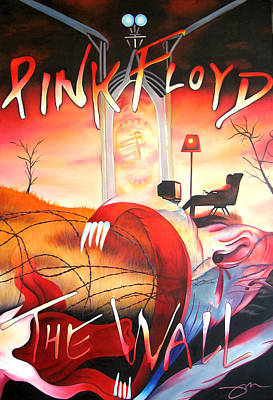 Pink Floyd The Wall Art Print